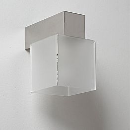 Modern design wall sconce Matis with modern shade, 11x11 cm
