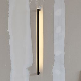 Handmade Modern Wall Lamp in Black Iron Made in Italy - Pamplona