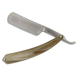 Straight Razor in Steel and Ox Horn Made in Italy - Mello