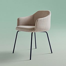Modern Design Dining Chair Made in Italy - Cloe