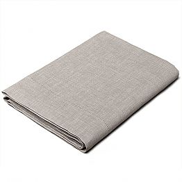 Single, King size and Full-size Natural Linen Sheet Made in Italy - Chiana